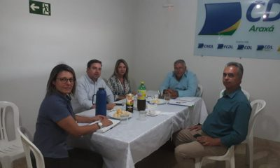 Parceria   UNIARAXÁ e CDL-MG
