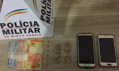 Polícia Militar prende autores por tráfico de drogas em Araxá. Leia essa e outras ocorrências do final de semana em Araxá e Região