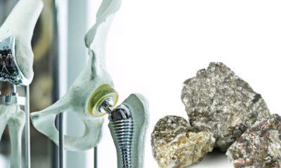 Próteses ortopédicas feitas com nióbio no Brasil é um sucesso