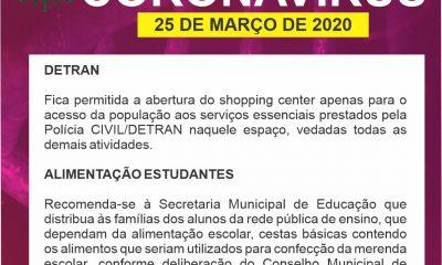 Comitê COVID-19/Araxá prioriza os serviços do DETRAN