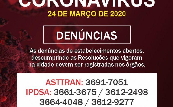 Informações Comitê COVID-19/Araxá