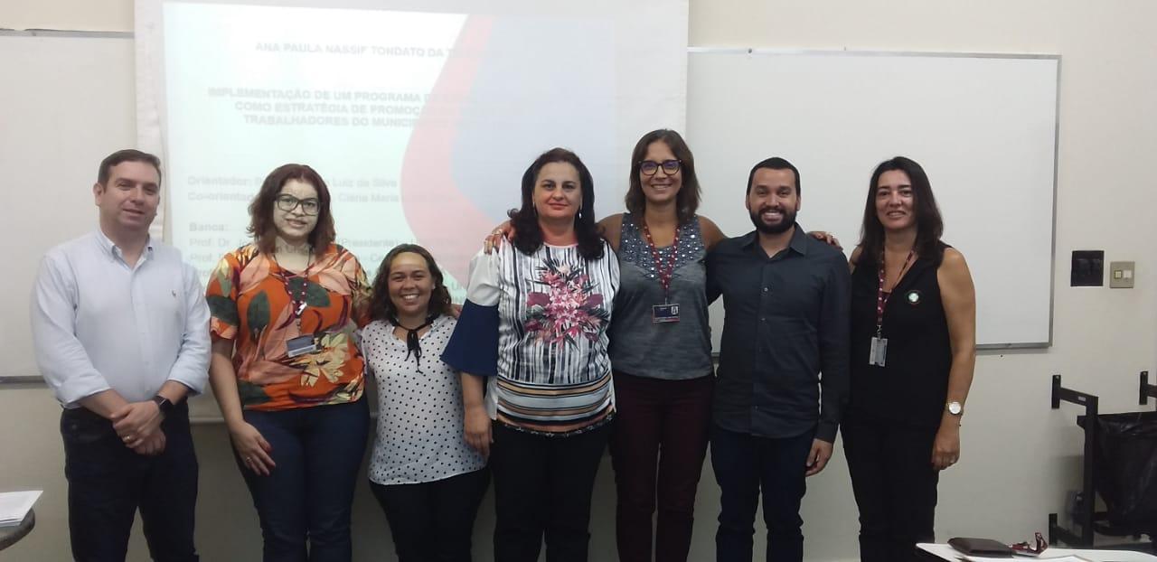 Professores do UNIARAXÁ defendem tese de doutorado