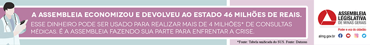 SUPER BANNER – ASSEMBLEIA DO ESTADO DE MINAS GERAIS495*8/1