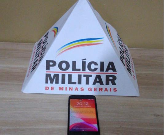 Polícia Militar prende autor e recupera celular furtado em Araxá