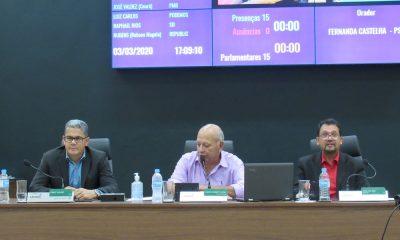 Sete Vereadores fizeram uso da tribuna da Casa da Cidadania, Reunião Ordinária realizada na última terça-feira (03/03)
