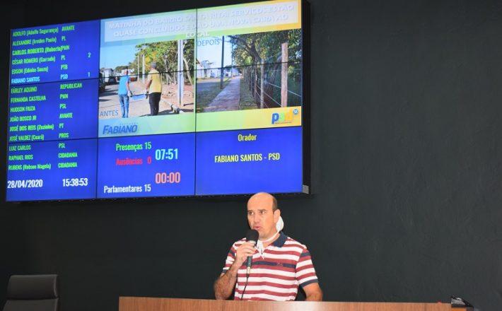 Fabiano mostra resultados da obra na Matinha do Santa Rita
