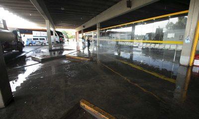 Prefeitura de Araxá inicia a desinfecção de áreas com maior aglomeração de pessoas