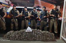 Polícia Militar apreende 236 Tabletes de maconha em Ibiá. Leia essa e outras ocorrências do final de semana em Araxá e Região