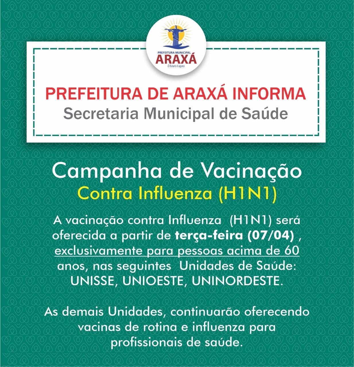 Vacinação de idosos recomeça dia 7