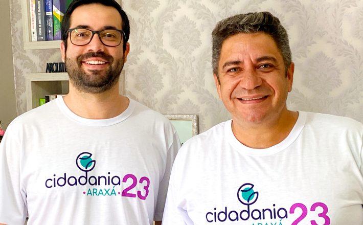 Robson Magela e Raphael Rios se filiam ao Cidadania