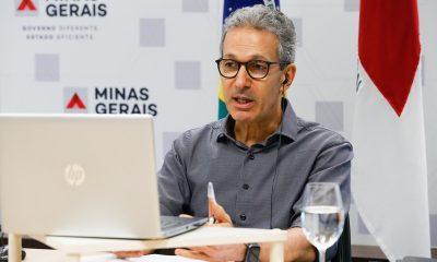 Zema ressalta resultados de Minas contra o coronavírus e destaca plano de reativação econômica