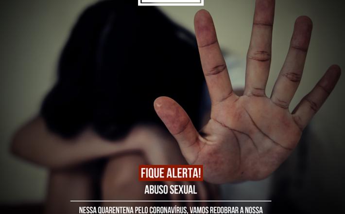 Todos contra a violência INFANTOJUVENIL abuso sexual na quarentena