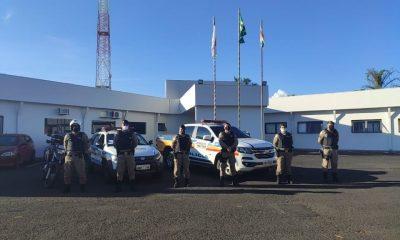 """Polícia Militar realiza """"OPERAÇÃO REGIÃO SEGURA"""" em comemoração aos 34 anos da 5ª Região da Polícia Militar"""