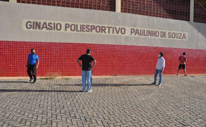 Secretário de Esportes faz vistorias nos ginásios municipais