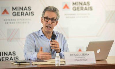 Romeu Zema detalha situação fiscal do Estado e pede apoio e união aos Poderes para superar crise econômica