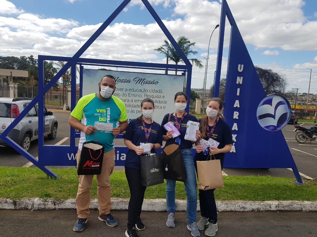 Projeto UNIARAXÁ Promovendo Saúde realizou ao longo do mês de Abril várias ações em prol da comunidade de Araxá