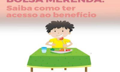 Benefício Bolsa Merenda pode ser consultado via aplicativo