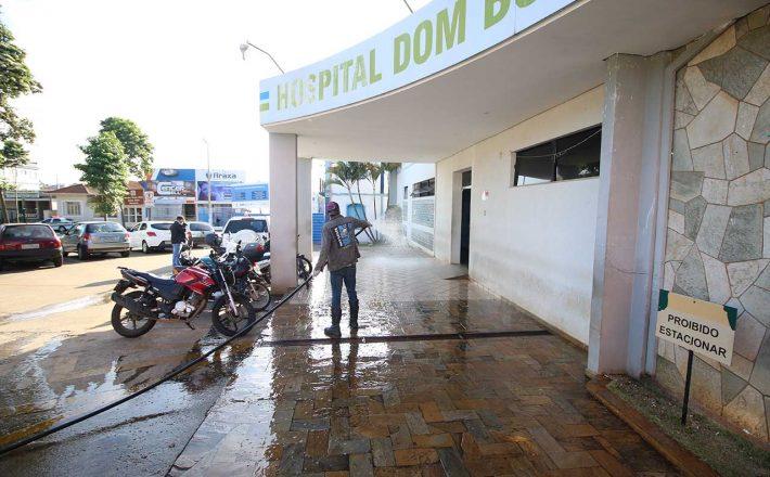 Prefeitura segue trabalho de desinfecção em Araxá