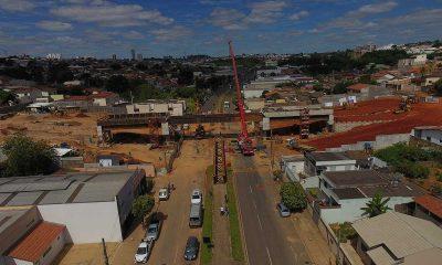 Prefeitura cumpre mais uma etapa da obra do viaduto da Rua Uberaba