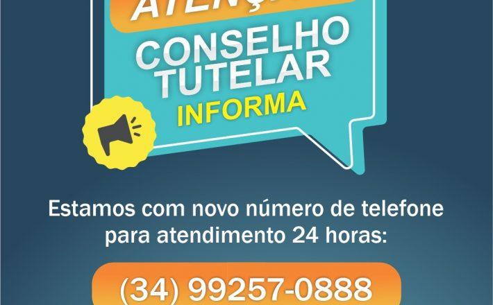 Prefeitura divulga novo número de telefone do Conselho Tutelar de Araxá