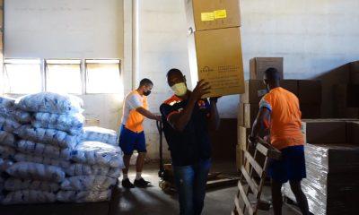 Governo arrecada cerca de R$ 19 milhões em doações e 175 mil cestas básicas