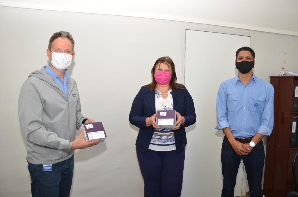 CBMM faz doação de testes rápidos de COVID-19 para a Secretaria de Saúde de Araxá
