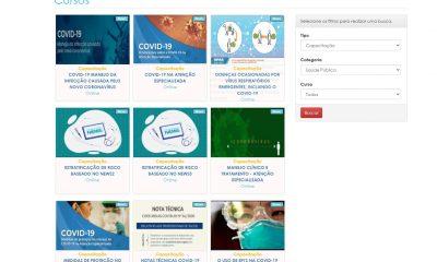 Governo disponibiliza cursos EAD para profissionais da Saúde