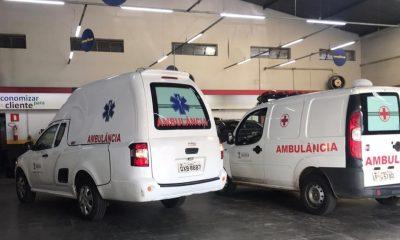 Prefeitura realiza desinfecção nos veículos da Secretaria de Saúde
