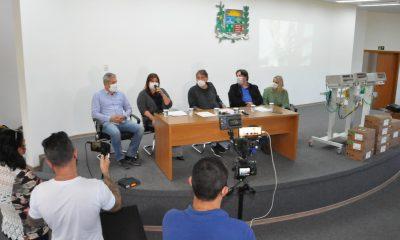 Prefeitura recebe respiradores e bombas de infusão cedidos pelo deputado Mário Heringer
