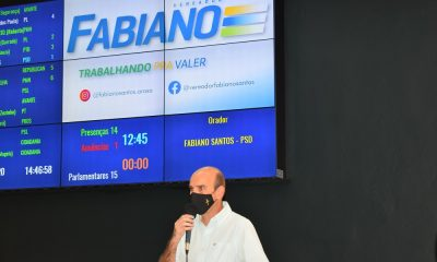 Criação do Centro de Atendimento ao Cidadão (CEAC) é sugerida por Fabiano na Câmara