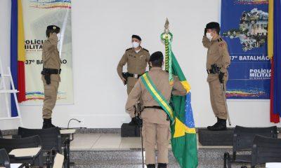 37º Batalhão de Polícia Militar realiza Solenidade de Passagem de Comando