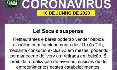 Prefeitura e Comitê COVID-19/Araxá liberam funcionamento de novos setores