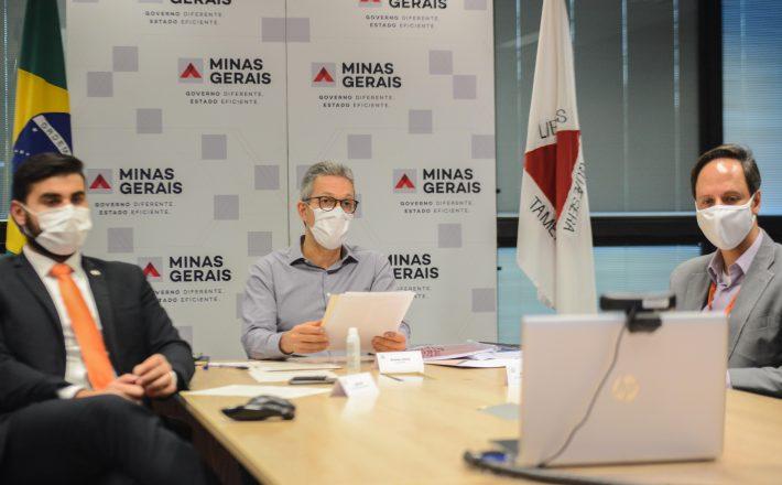Romeu Zema solicita à Assembleia a prorrogação do estado de calamidade pública em decorrência do coronavírus