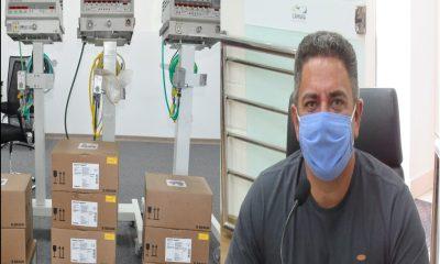Robson Magela afirma que respiradores emprestados por deputado não servem para nada do jeito que estão