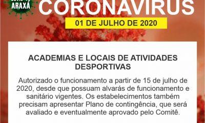 Prefeitura e Comitê COVID/19-Araxá divulgam novas deliberações