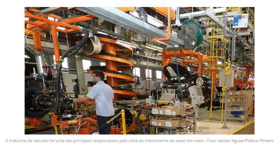 Indústria cresce 7,0% em maio, após dois meses de queda com a pandemia