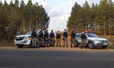 Polícia Militar realiza Operação Triângulo Mineiro Seguro em toda área do 37º BPM