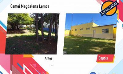 Após fiscalização, Raphael Rios confere reforma geral do Cemei Magdalena Lemos