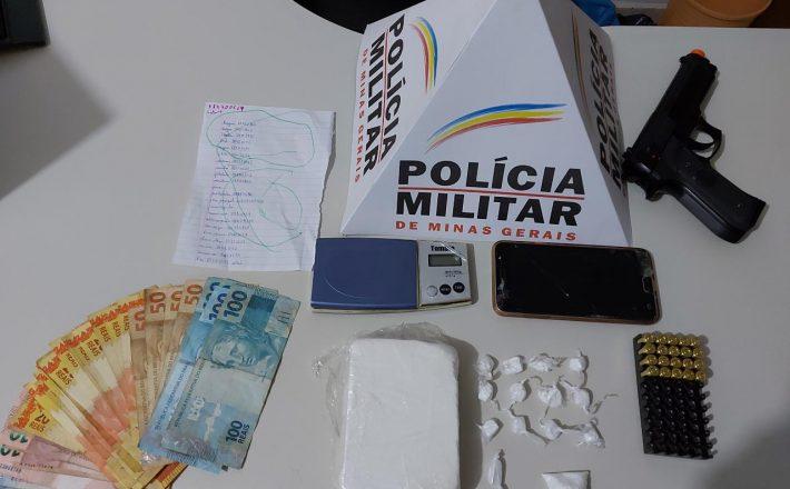 Polícia Militar prende autores por tráfico de drogas em Sacramento/MG