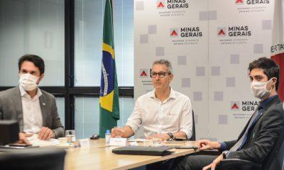 Romeu Zema participa de live para lançamento do projeto Desenvolve Minas