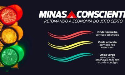 Entenda a divisão por ondas nas novas regras do Minas Consciente
