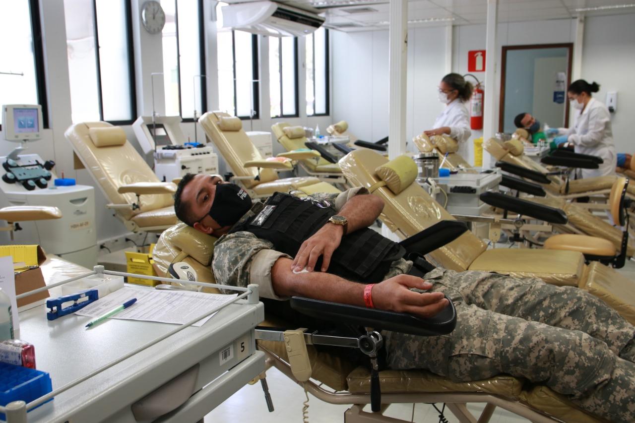 Departamento Penitenciário de Minas Gerais realiza campanha de doação de sangue