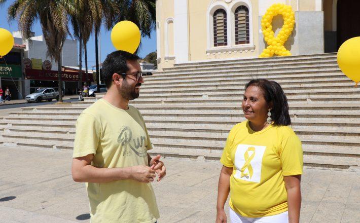 Setembro Amarelo completa três anos de ações em Araxá