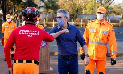 Zema reafirma compromisso com localização de vítimas do rompimento de barragem em Brumadinho