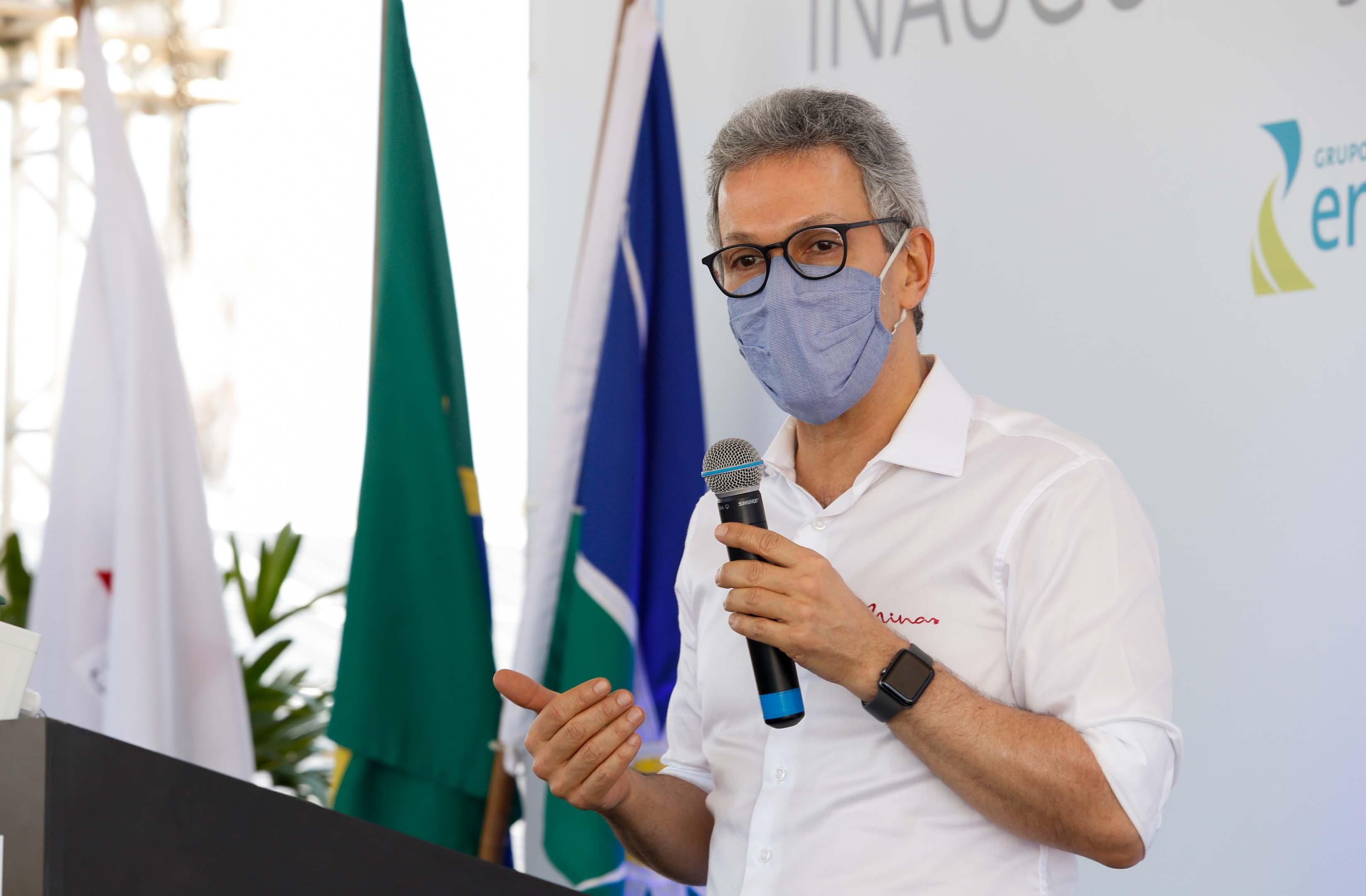Governador apresenta resultados do programa Transforma Minas