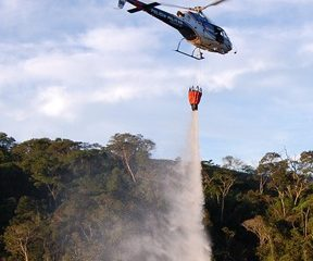 Minas envia ajuda militar para o Pantanal