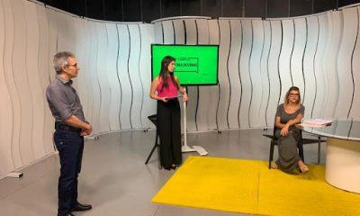 Em visita aos estúdios do Se Liga na Educação, Romeu Zema agradece alunos, professores e famílias pelo melhor resultado de Minas no Ideb