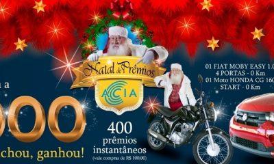 ACIA lança campanha de Natal em prol do comércio de Araxá