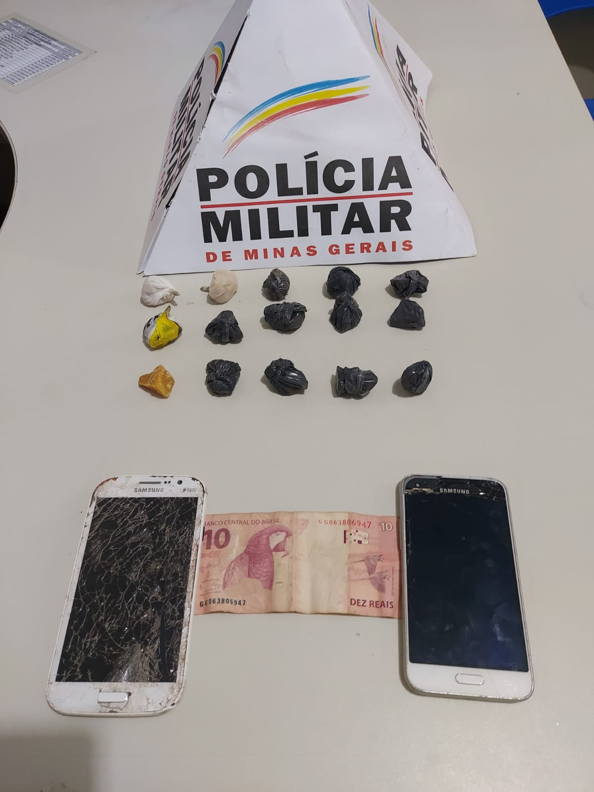 Polícia Militar prende autores por tráfico de drogas em Nova Ponte/MG
