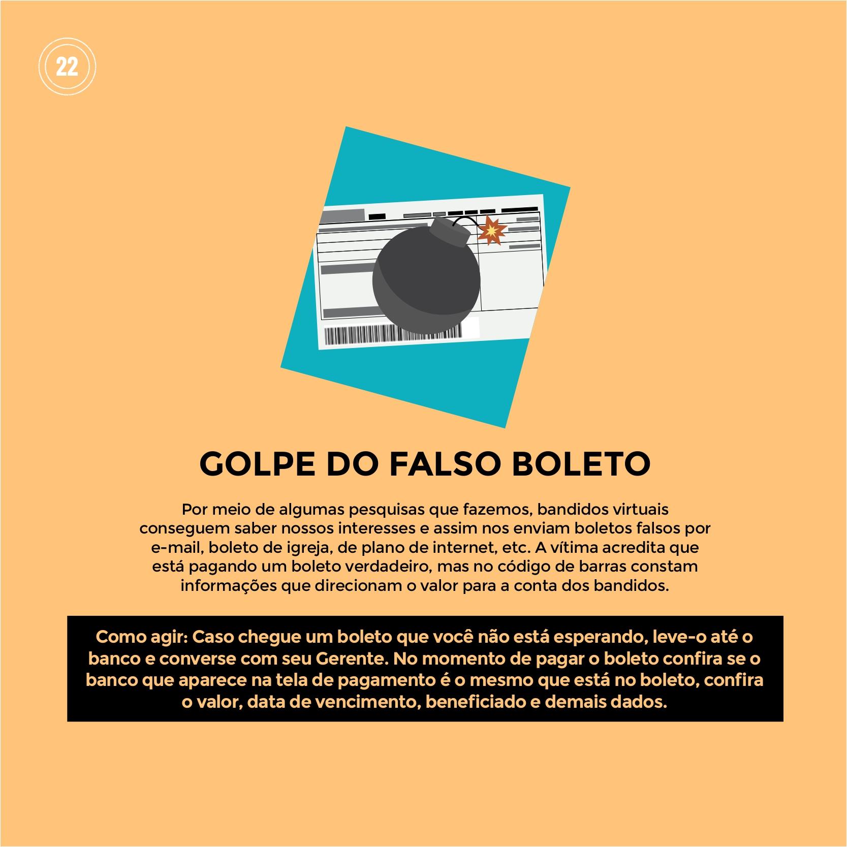 """Polícia Militar dá dicas sobre """"GOLPE DO FALSO BOLETO"""""""